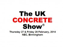 UK Concrete Show 2014